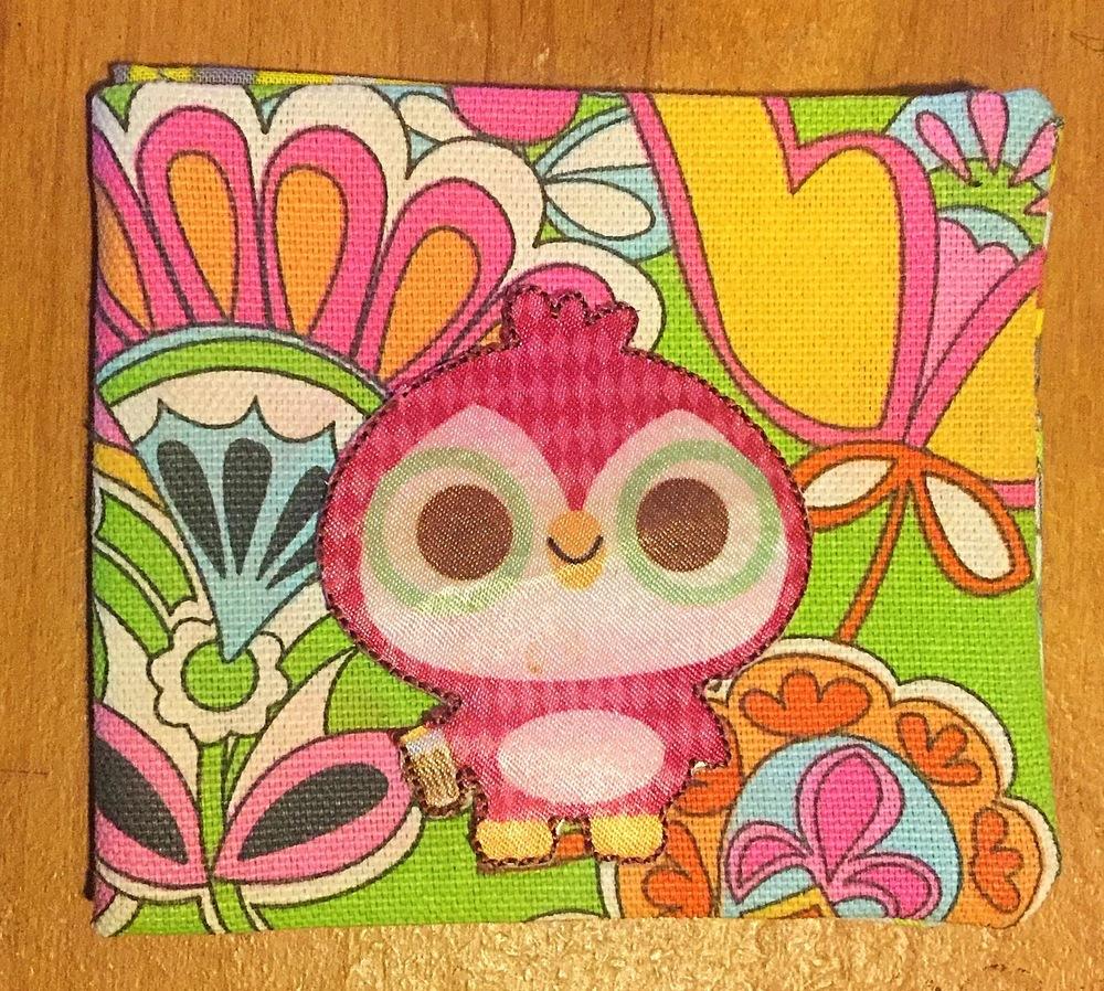 Pink Owl Wallet