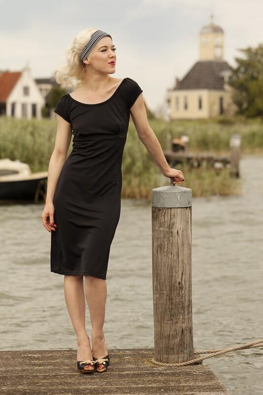Beachdress Sleeves Black
