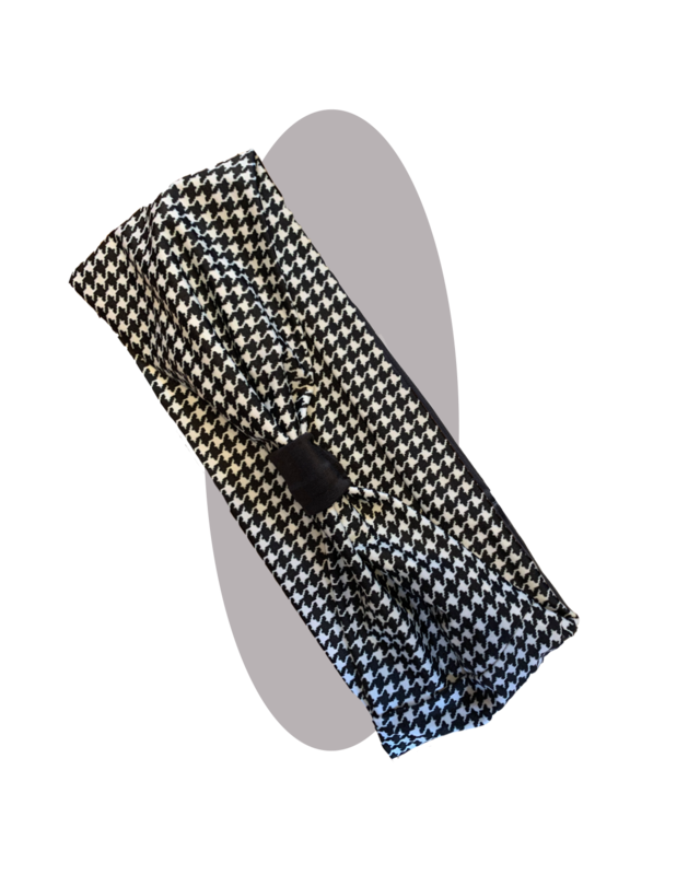 Headband pied de poule