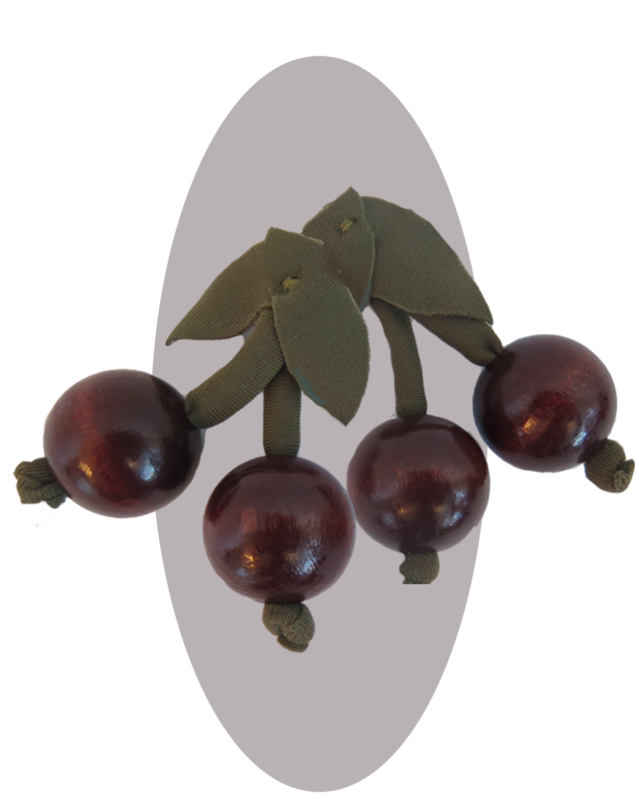 A pair of cherry-pins    2