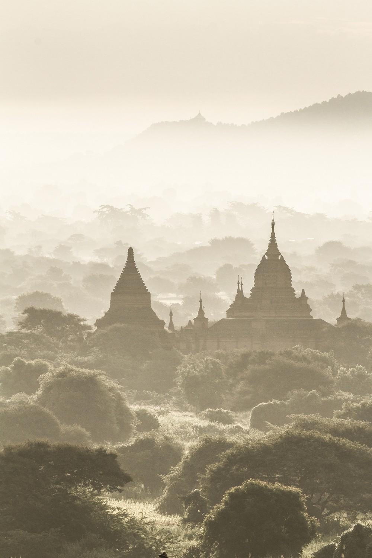 Bagan dans la brume - Myanmar 2017
