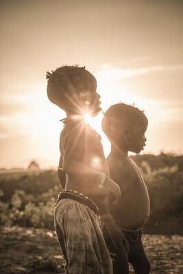Couché de soleil - Ethiopie 2018