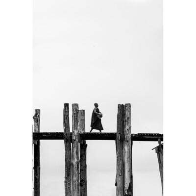L'homme qui marche - Myanmar 2017