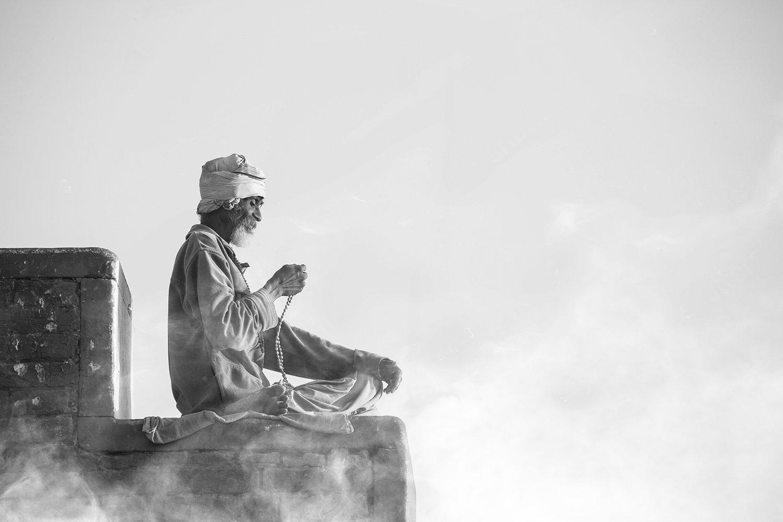 Prière - Varanasi - Inde 2018