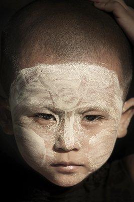 L'enfant au Tanaka - Myanmar 2017