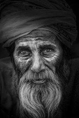 Série de portrait 1 - Varanasi - Inde 2018
