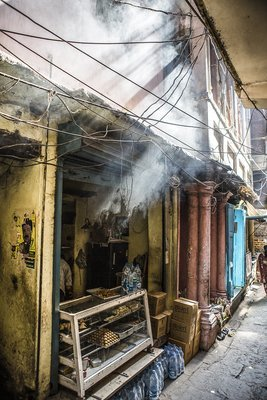 En ville - Varanasi - Inde 2018