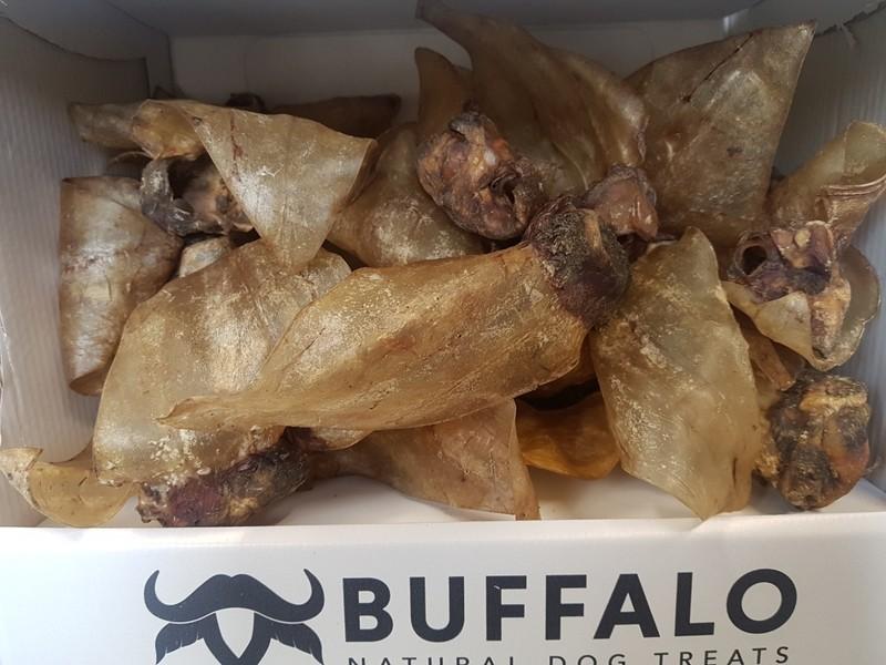 Buffalo Ear Medium with Meat x 5