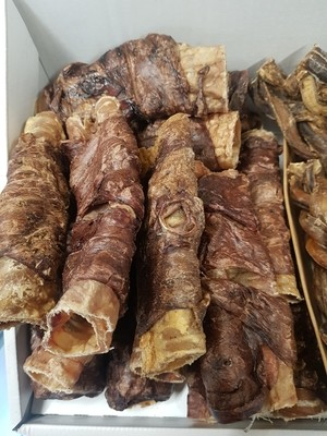 Buffalo Trachea wrapped in Lung