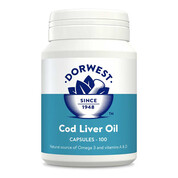 Cod Liver Oil Capsules For Dogs And Cats 100
