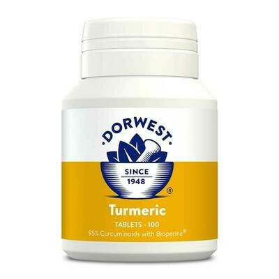 Turmeric Tablets For Dogs And Cats 100