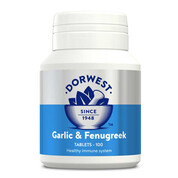 Garlic & Fenugreek Tablets For Dogs And Cats 100