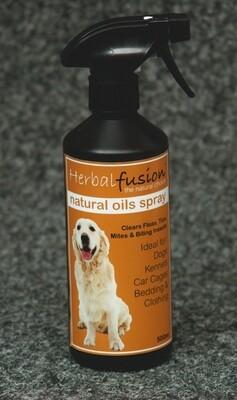 Herbal Fusion Tick & Flea Spray 500ml