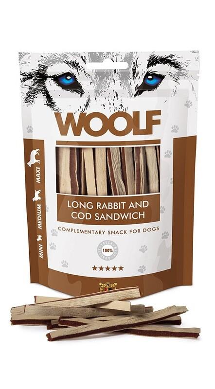 WOOLF Long rabbit and cod sandwich