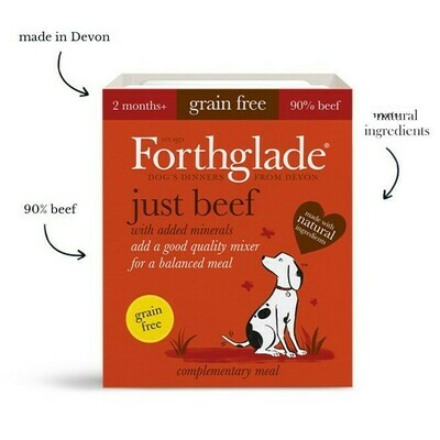 Forthglade just beef natural grain free