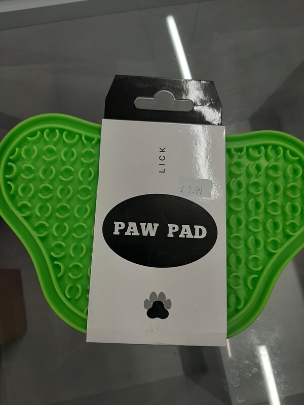 Lick Paw Pad Green