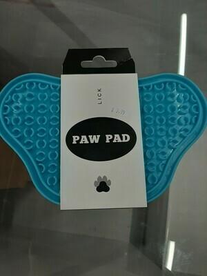 Lick Paw Pad Blue