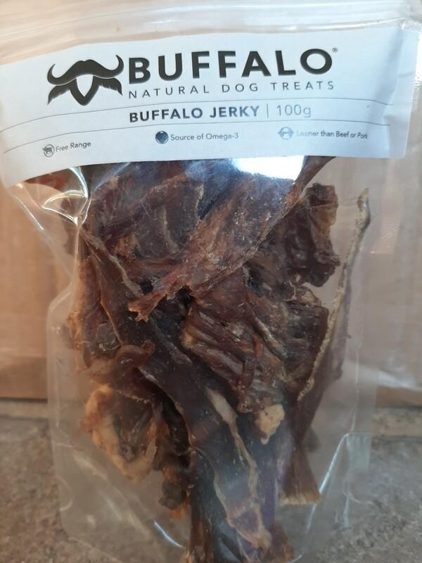 100% Pure Buffalo Jerky 100g