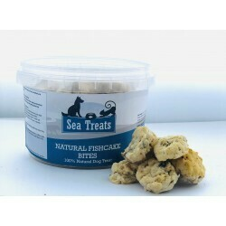 NATURAL FISHCAKE BITES 200G TUB
