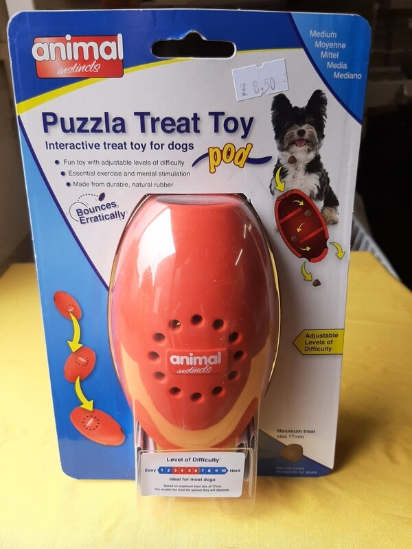 Puzzle Treat Toy Pod
