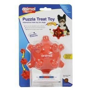 Puzzle Treat Toy Atom Pod