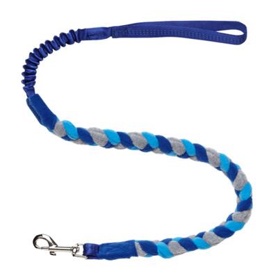 Bungee Fleece Tuggy Lead - Royal Blue Handle