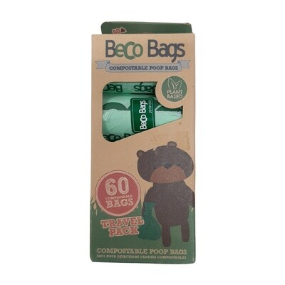Beco Compostable Poop Bags - scented - 60
