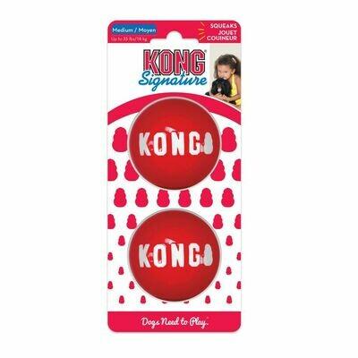 Kong Signature Ball Medium 2pk