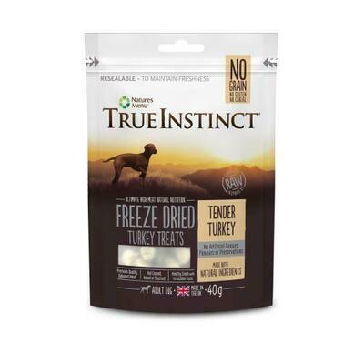 True Instinct Freeze Dried Treat Turkey 40g