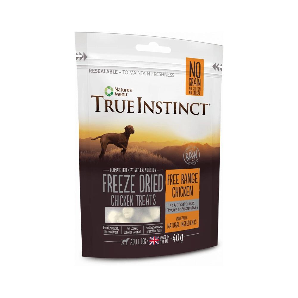 True Instinct Freeze Dried Treat Chicken 40g
