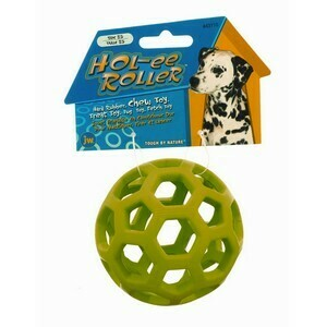 JW Hol-ee Roller Tug & Treat Ball