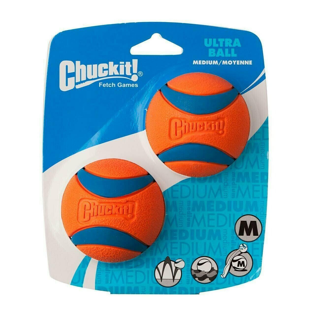Chuckit! Ultra 2pk balls Medium