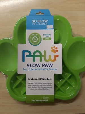 Slow Paw Interactive Slow Feeder Green