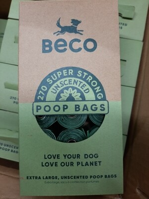 Beco Degradable Poop Bags - unscented - 270