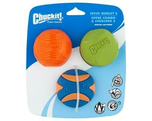 Chuckit! Fetch Medley - 3pk