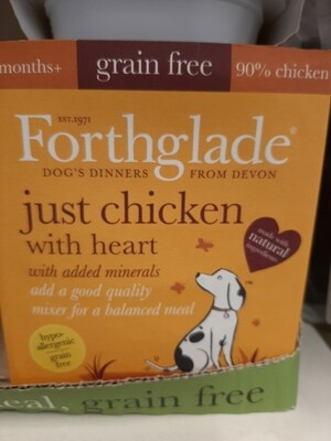 Forthglade Puppy just chicken with heart natural grain free