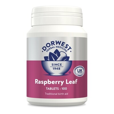 Raspberry Leaf Tablets For Dogs And Cats 100