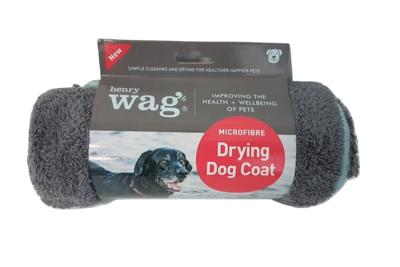 Henry Wag Drying Dog Coat Medium