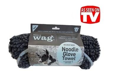 Henry Wag Noodle Glove Towel