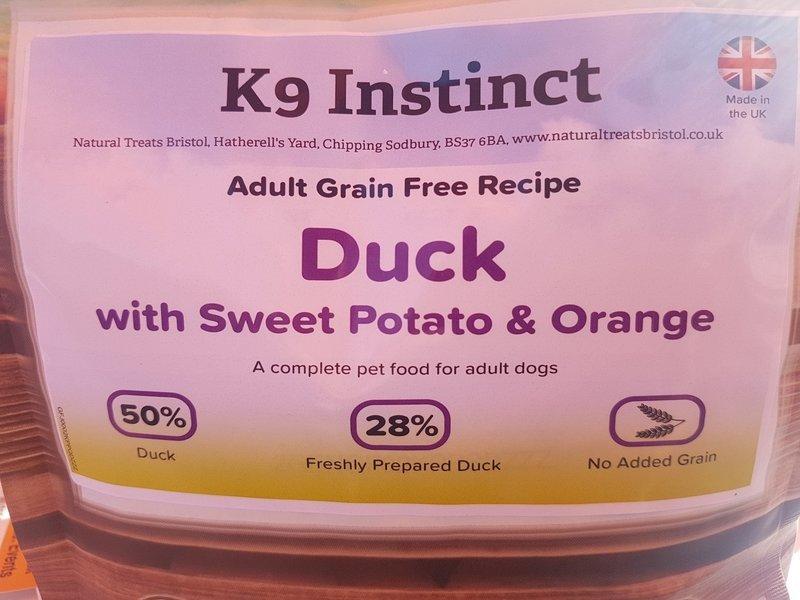 Duck, Sweet Potato & Orange, Grain Free 15kg