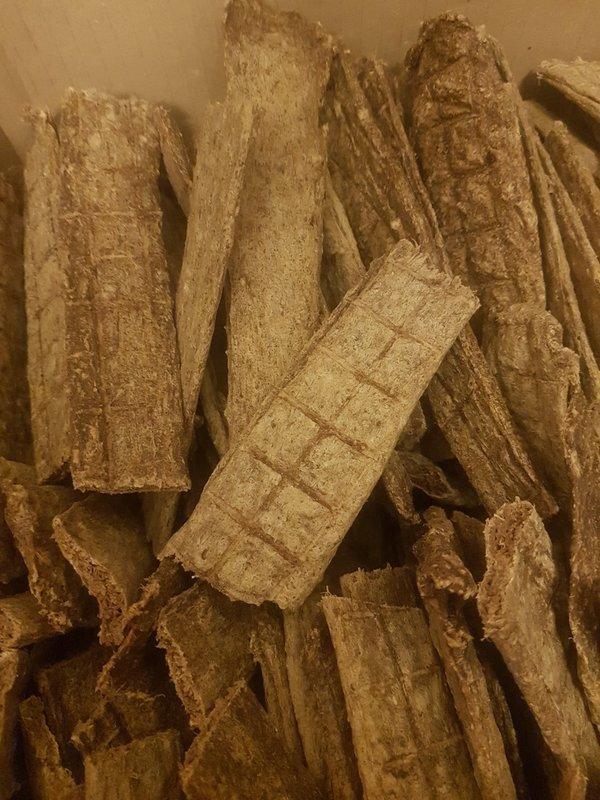 100% Dried Rabbit Meat Strips 200g