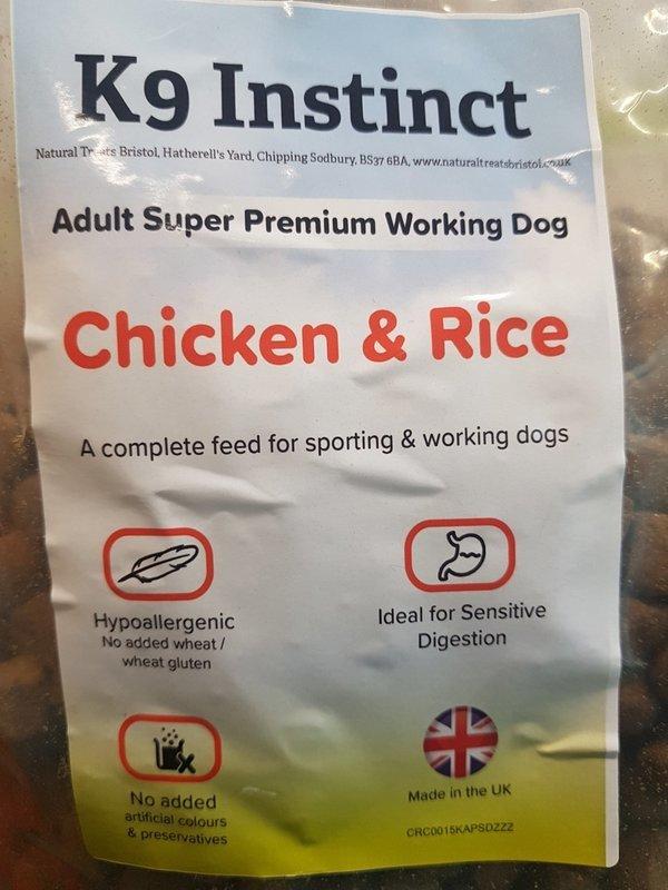 Chicken & Rice, Hypo-allergenic 2kg