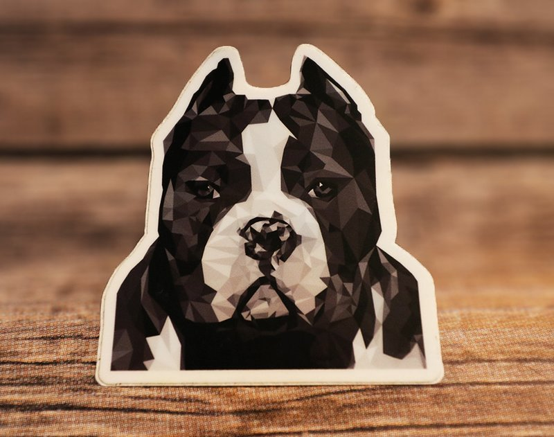Geometric Bully Sticker