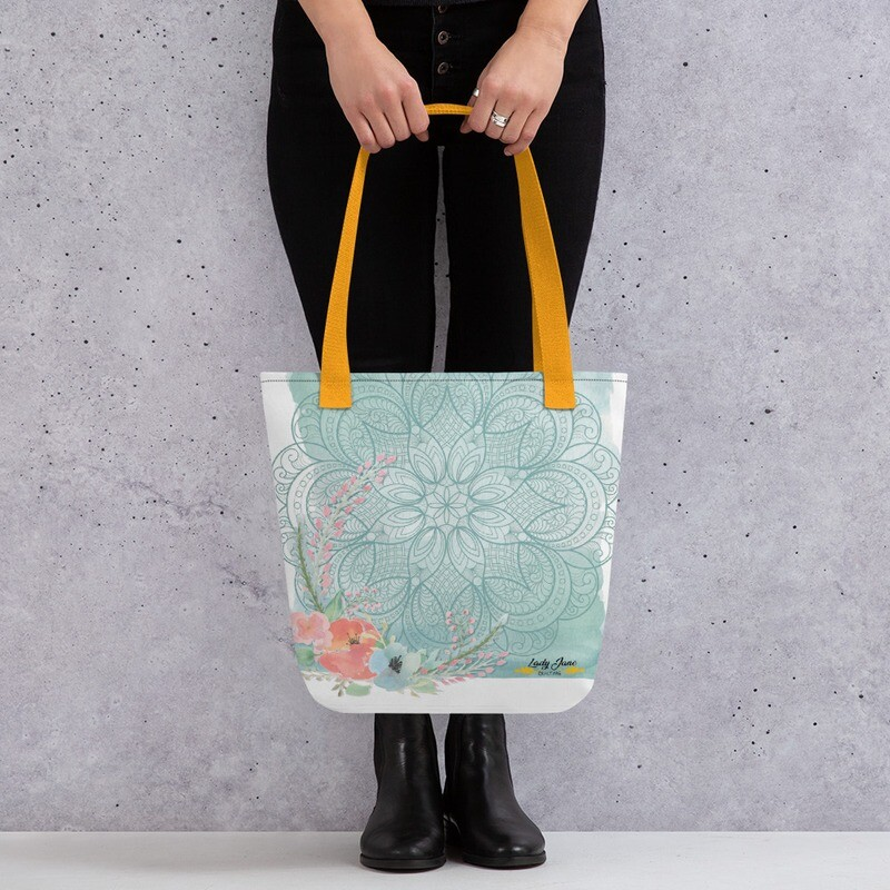 Tote bag - Mary Beth Water Colour
