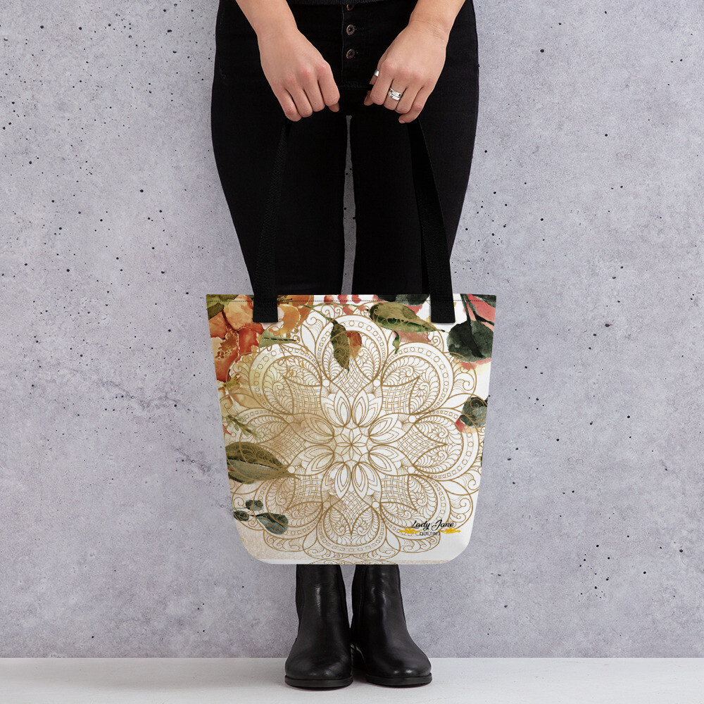 Tote bag - Mary Beth October Florals