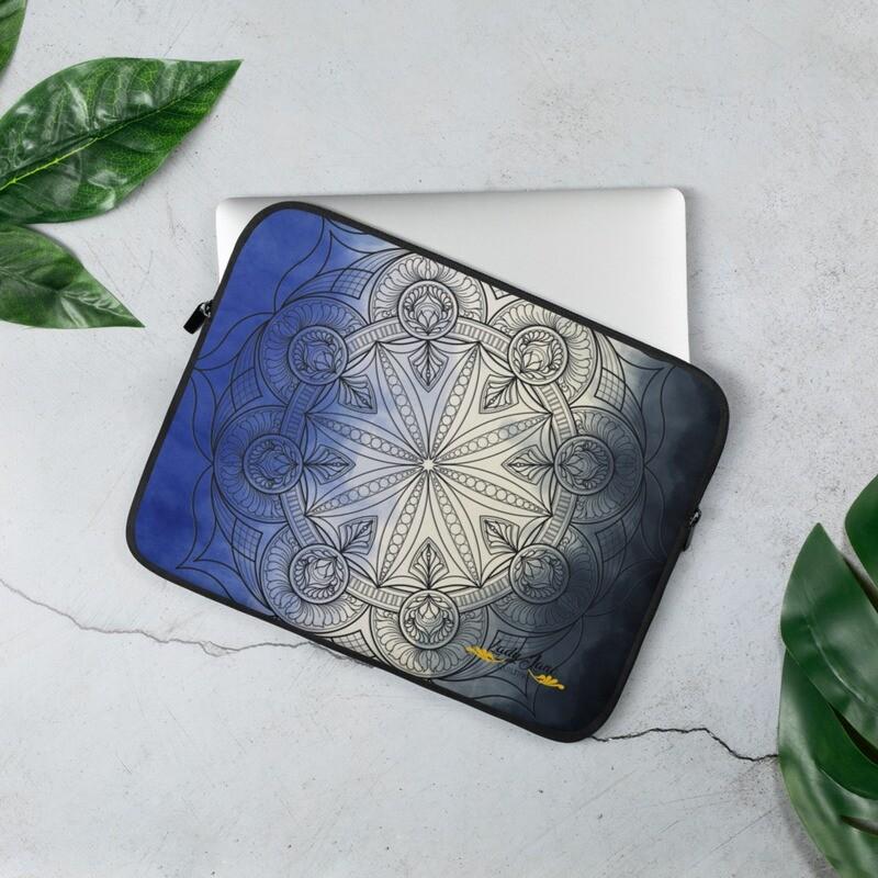 Laptop Sleeve - Wendy Blue