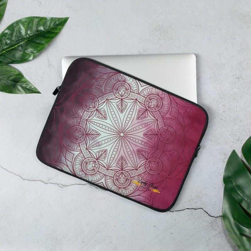 Laptop Sleeve - Wendy Pink
