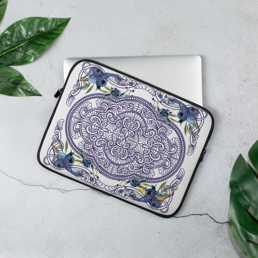 Laptop Sleeve - Kim Blueberry