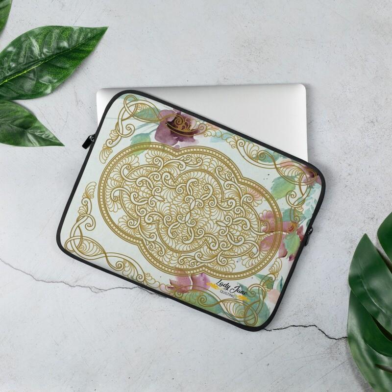 Laptop Sleeve - Kim Gold