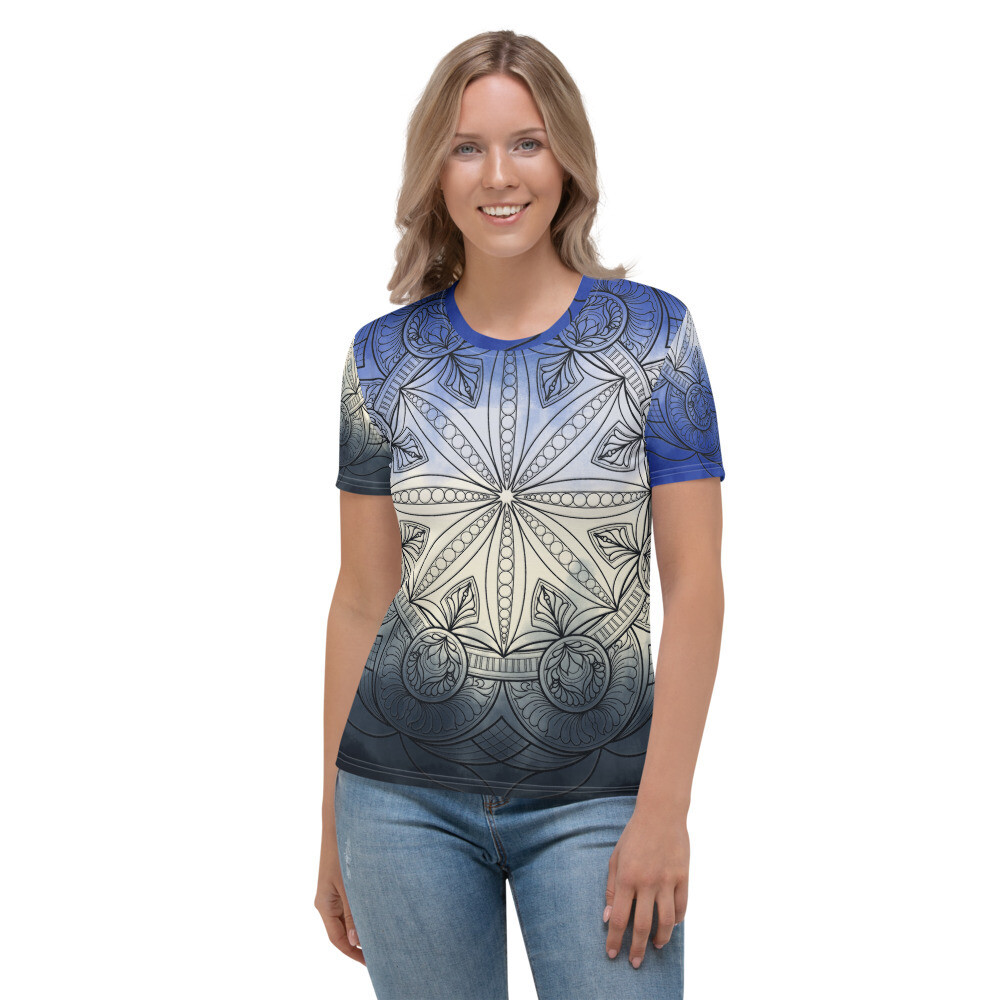 Women's T-shirt - Wendy Blue